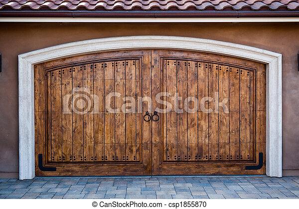 Magnificent Carriage Doors - csp1855870