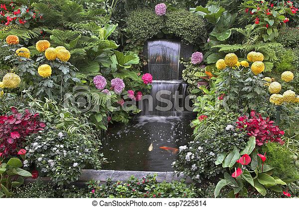 Magnificent flowers.  - csp7225814