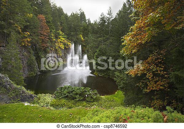 Magnificent fountain - csp8746592