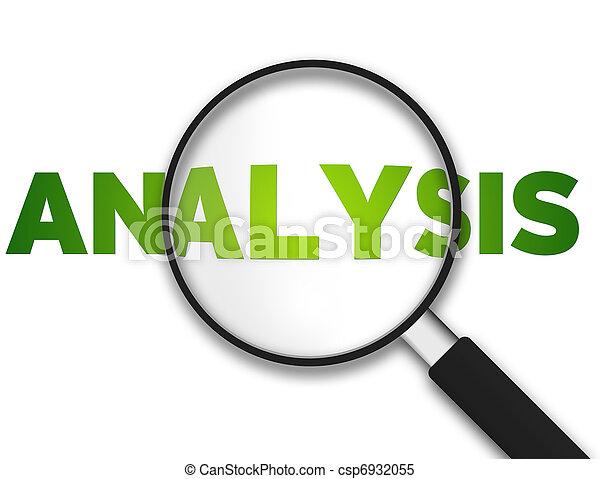 Magnifying Glass - Analysis - csp6932055
