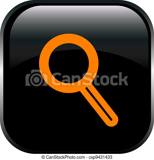 magnifying glass icon - csp9431433