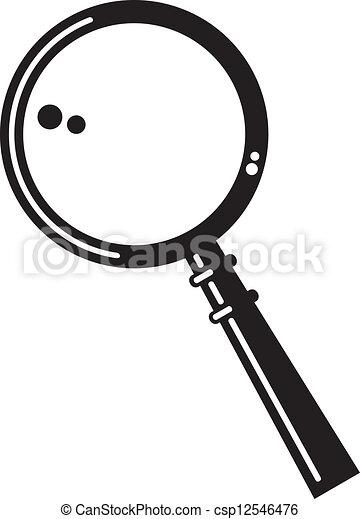 magnifying glass - csp12546476