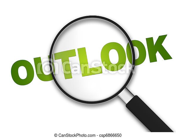 Magnifying Glass - Outlook - csp6866650
