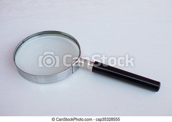 Magnifying glass - csp35328555
