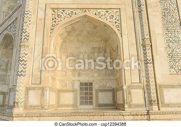 Puerta Taj Mahal - csp12394388