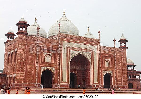 Taj Mahal - csp27029102