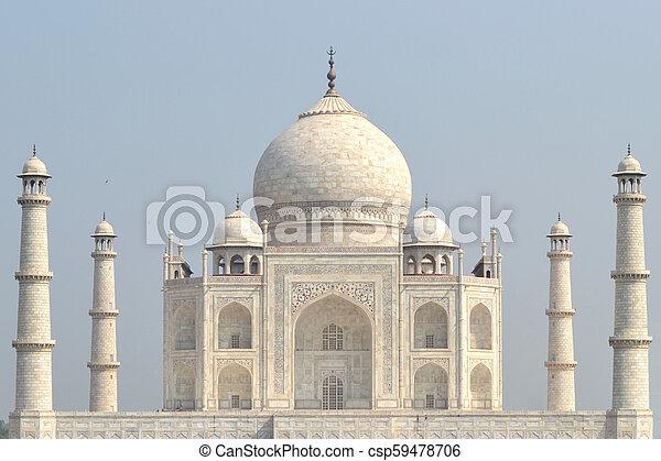 Taj Mahal - csp59478706