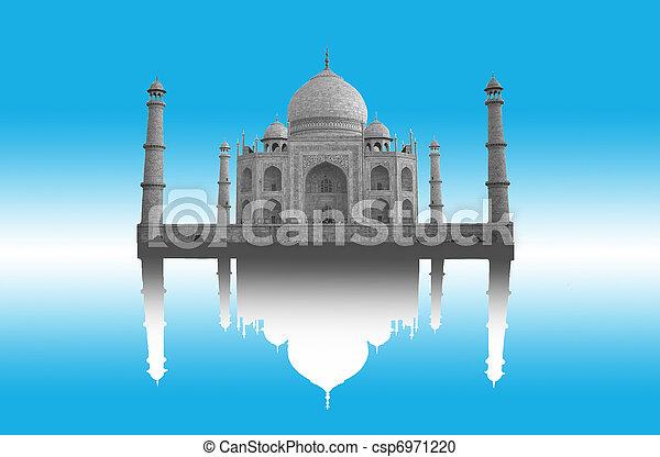 Taj Mahal - csp6971220