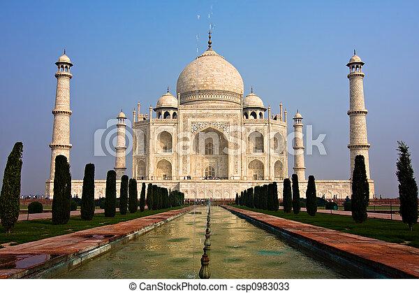 Taj Mahal - csp0983033