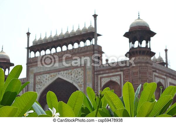 Taj Mahal - csp59478938