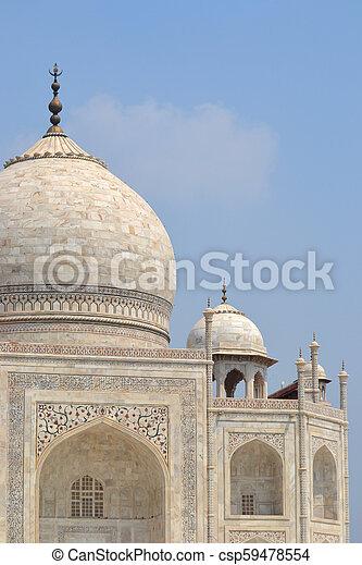 Taj Mahal - csp59478554