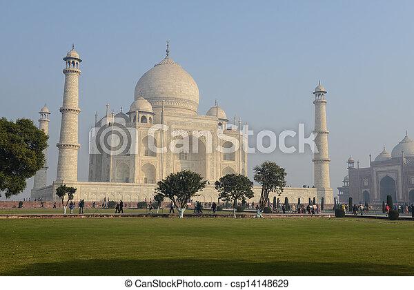 Taj Mahal - csp14148629
