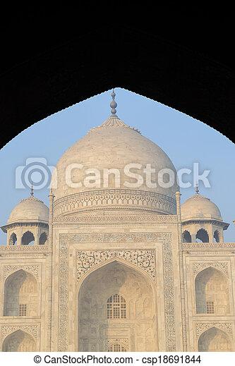 Taj Mahal - csp18691844
