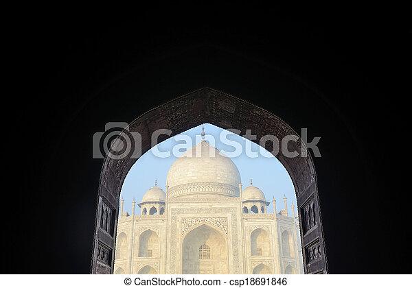 Taj Mahal - csp18691846