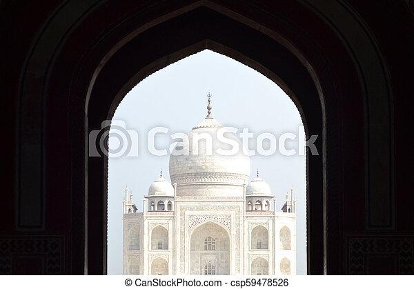 Taj Mahal - csp59478526