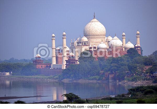 Taj Mahal - csp59478727