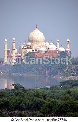 Taj Mahal - csp59478746