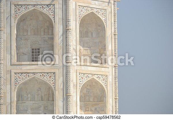 Taj Mahal - csp59478562