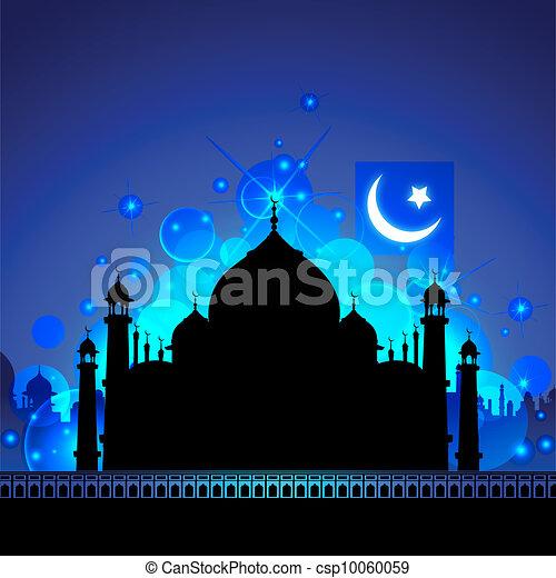 Taj Mahal de noche - csp10060059