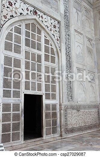 Taj Mahal - csp27029087