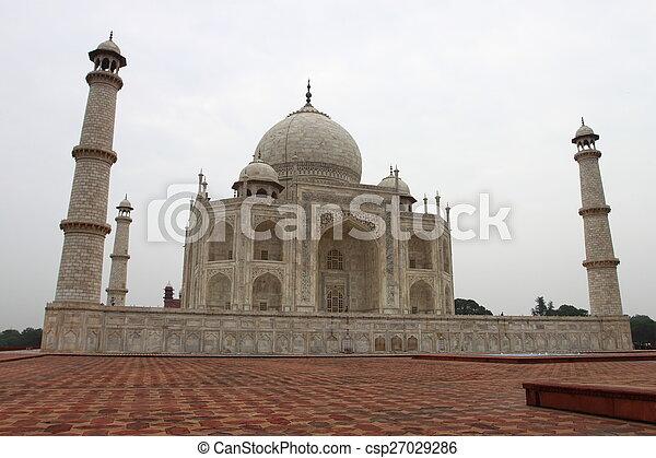 Taj Mahal - csp27029286