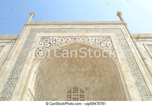 Taj Mahal - csp59478781