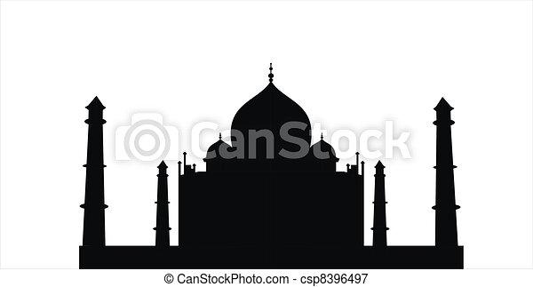 Taj Mahal - csp8396497