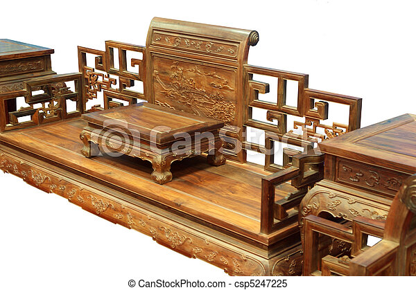 Mahogany Furniture Chairs And Cof Chinese Luxury Imitation