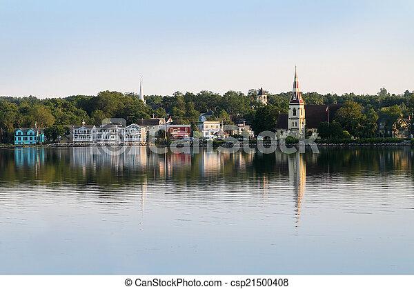 Mahone Bay, Nova Scotia - csp21500408
