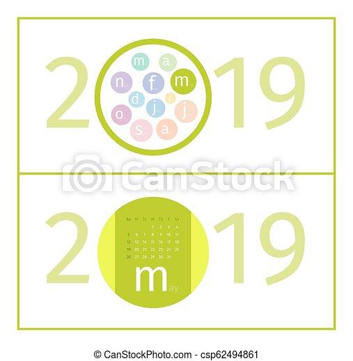 Mai Calendrier 2019.Mai Calendrier 2019 Page Gabarit