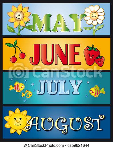 mai, juillet, juin, août - csp9821644