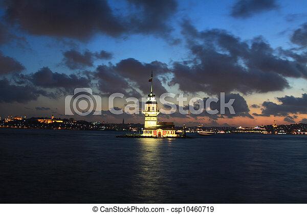Maiden's Tower - csp10460719