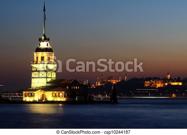 Maiden's Tower - csp10244187