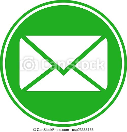 Mail button - csp23388155