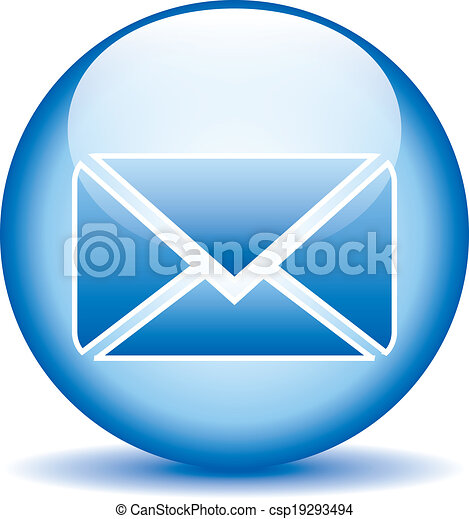 Mail button - csp19293494