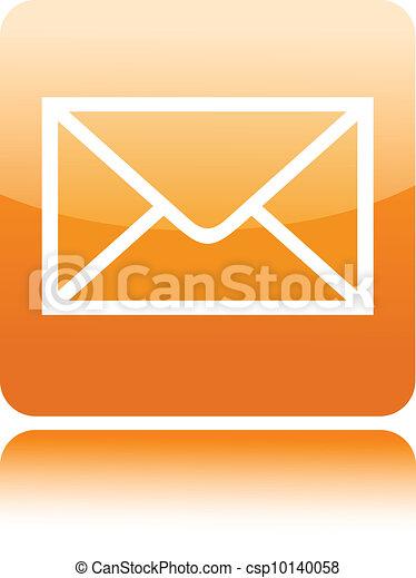 Mail button icon - csp10140058