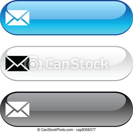 mail button. - csp8356377