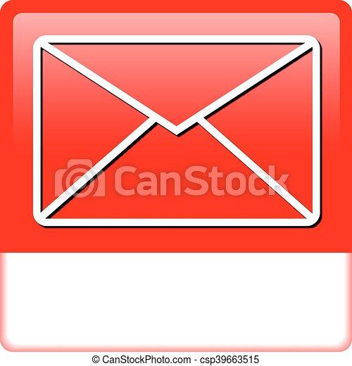 Mail Button - csp39663515
