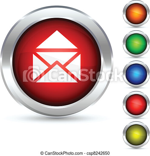 Mail button. - csp8242650