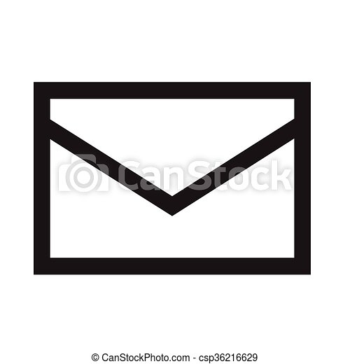 mail icon illustration design vector illustration search clipart rh canstockphoto com email icon vector mail icon vector free download