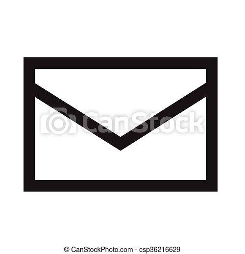 mail icon illustration design vector illustration search clipart rh canstockphoto com