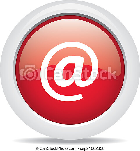 @ mail isolated on white background - csp21062358