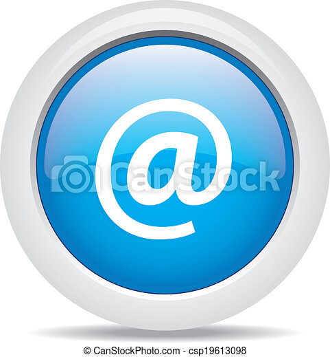 @ mail isolated on white background - csp19613098