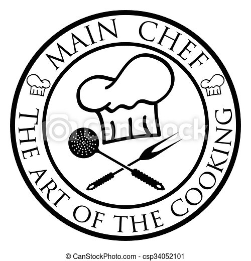 Main Chef Illustration Chef Hat As A Symbol Of Culinary Art