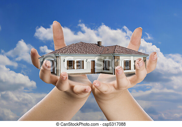 main, maison - csp5317088