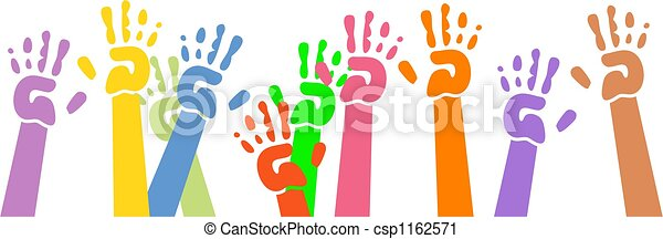 mains ondulantes - csp1162571
