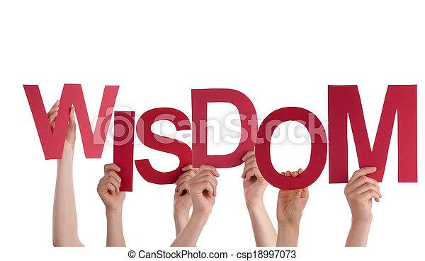 mains, tenue, sagesse - csp18997073