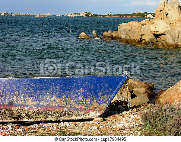 maintenance of the boats - csp17984495