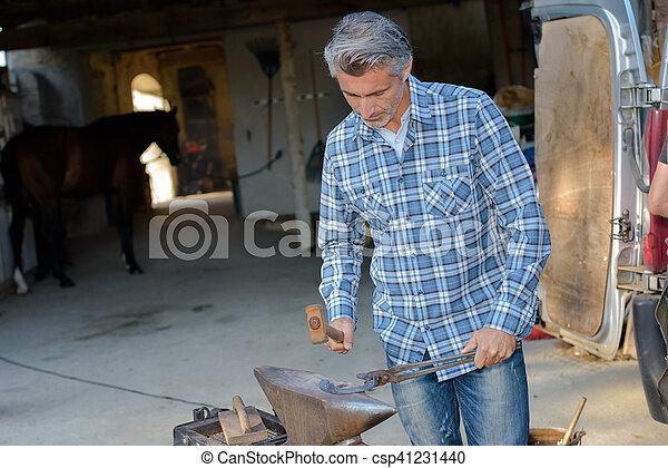 maintenance of the hoof - csp41231440