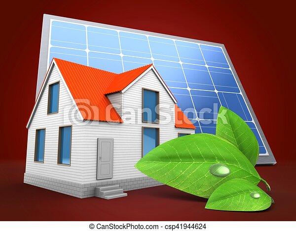 maison solaire cool la maison solaire biologique with maison solaire maison solaire with. Black Bedroom Furniture Sets. Home Design Ideas